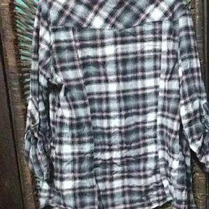 Forever 21 Tops - 💥 VINTAGE Forever 21 flannel plaid shirt